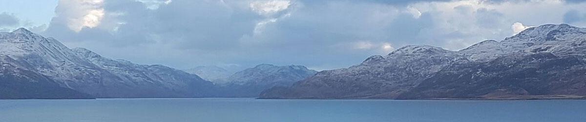 Winter Mountains on Skye